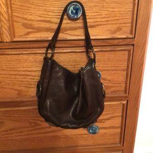 Kooba dark brown shoulder bag